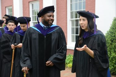DSC_8602 School of Law Honors Graduates at 2018 Commencement Ceremony