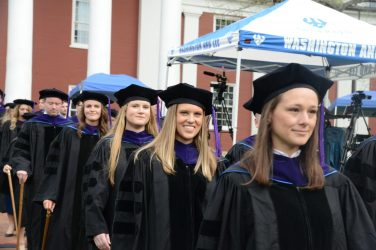 DSC_8699 School of Law Honors Graduates at 2018 Commencement Ceremony