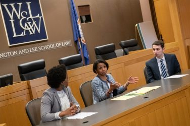 The Black Law Student Association host a breakfast and Q&A with U.S. District Judge Wilhelmina Wright in the Moot Courtroom.