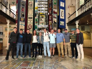 Students in the Cape Town Summer Internship Program visit the District Six Museum in Cape Town, South Africa. Photo courtesy Connect123.