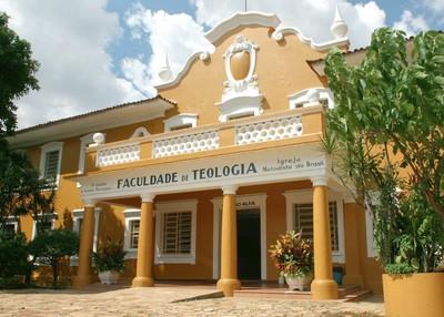 Antigo prédio da Faculdade de Teologia Metodista, hoje Centro de Memória Metodista, que integra o Centro de Memória