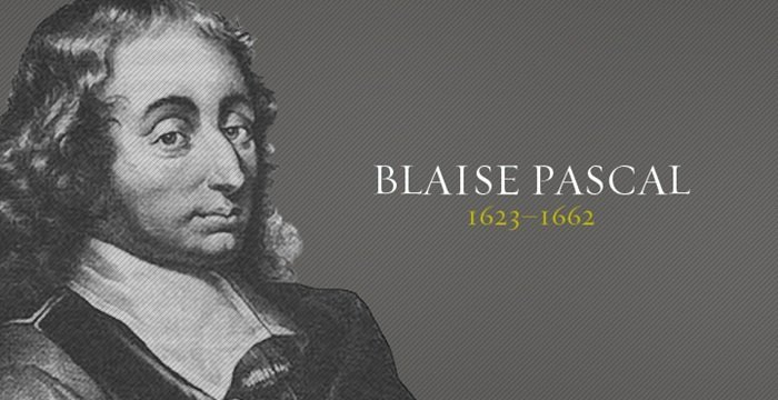 The life and achievements of blaise pascal
