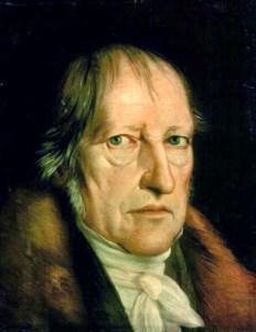 Georg W. F. Hegel, influência direta sobre o conceito de ideologia em Karl Marx
