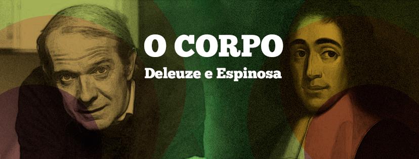 """Evento """"Desmortificar o corpo: Deleuze leitor de Espinosa"""""""