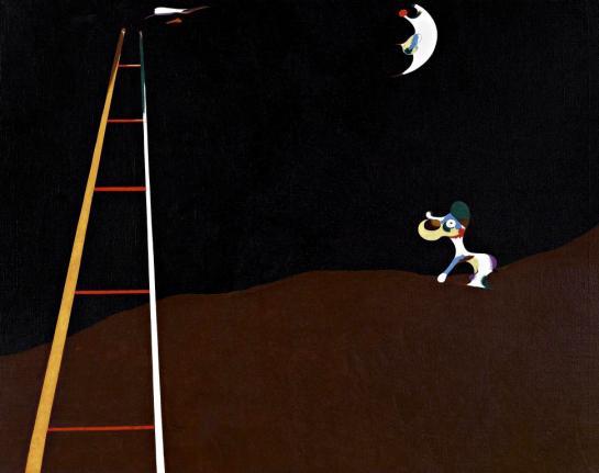 Cão latindo para a lua, 1926
