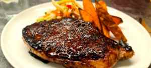 Read more about the article Teriyaki Steak with Fennel Slaw and Sweet Potato Wedges
