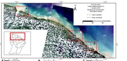 Image satellite Sentinel 2 octobre 2018