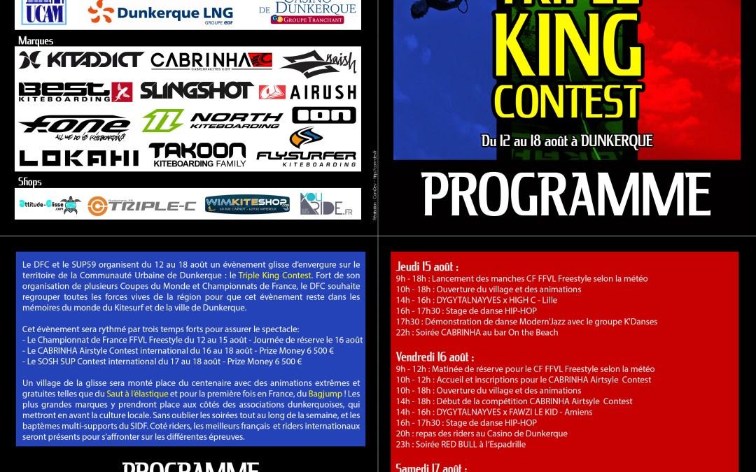 Programme Officiel du TKC 2013