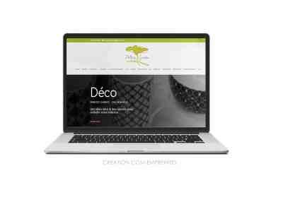 Création site web  sur mesure pour TPE-PME - jardinerie Périgny Garden