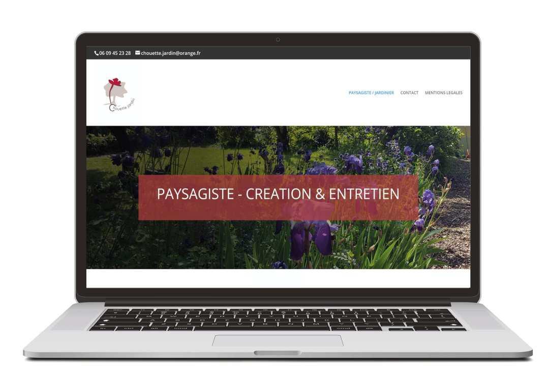 Création site web pour secteur artisanat