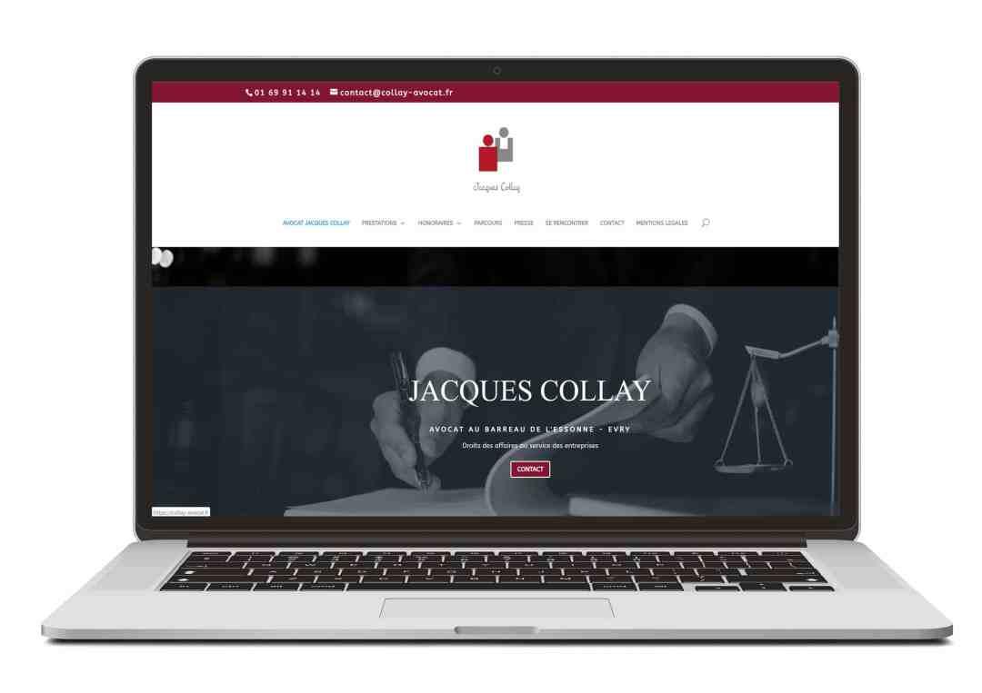 Création site web sur mesure pour cabinet d'avocat - By Com' Empreintes