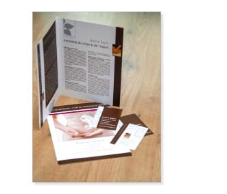 création plaquette / carte de visite / flyer