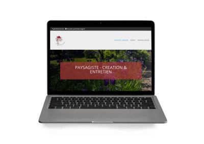 site web vitrine Chouette Jardin