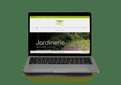 site web vitrine Perigny Garden