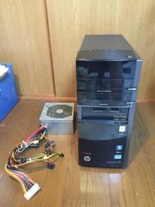 HP-h8-1280jpと電源