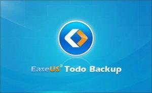 Easeus todo Backup起動画面
