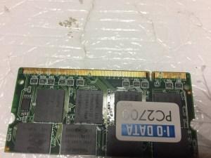 DynaBook VX/470LS不良メモリー