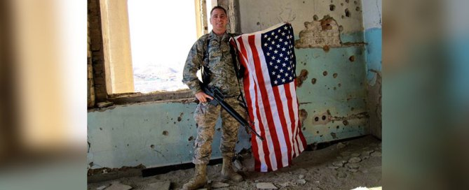 Jack Miller photographed on the western edge of Kabul, Afghanistan in 2009.