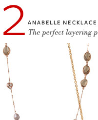 Anabelle Necklace - $69