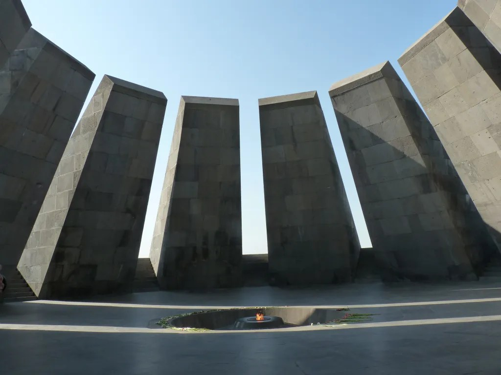 memoriale genocidio a Erevan