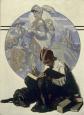 «Niño leyendo una historia de aventuras» (1923), de Norman Rockwell.