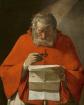«San Jerónimo leyendo una carta», de Georges de La Tour (1593-1652).