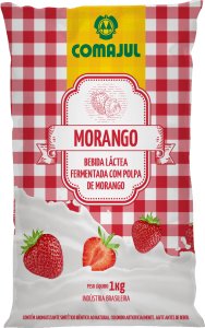 bebida morango