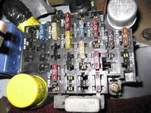 Fuel pump fuse and relay  MJ Tech: Modification and