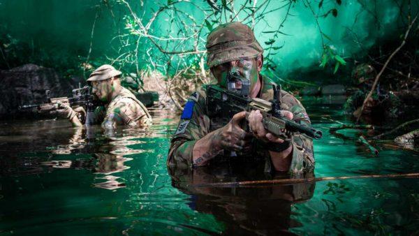 British Army Parachte Regiment 2nd Battalion (2 PARA), A Company, on Ex Mayan Warrior (Crown Copyright, 2019) [news][1180]