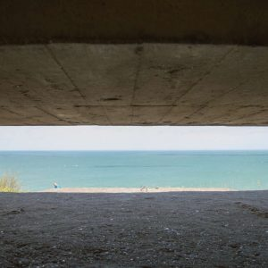 D-Day Atlantic Wall view from a bunker, Longues-sur-Mer [1180]