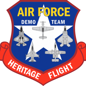 US Air Force Heritage Demo Team Logo