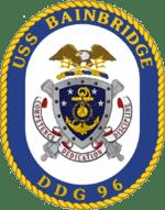 US Navy USS Bainbridge (DDG 96) Badge