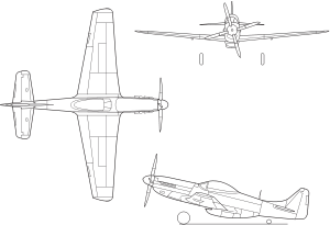 USAF P-51 Mustang Schematic [thumb]