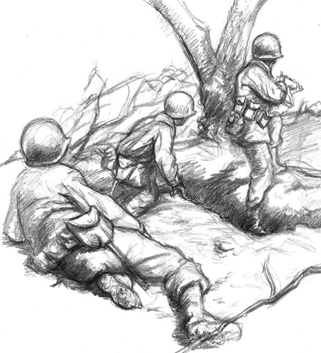 pencil   WWII GIs