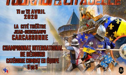 Tournoi de la Citadelle 2020 : inscriptions combattants / fighters registration