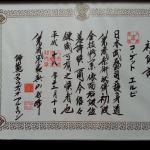 Diploma Karate 2