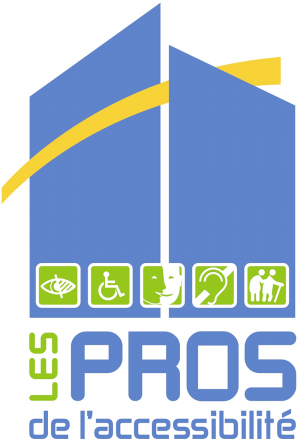 Logo - Les pro de l'accessibilité - Combles et travaux