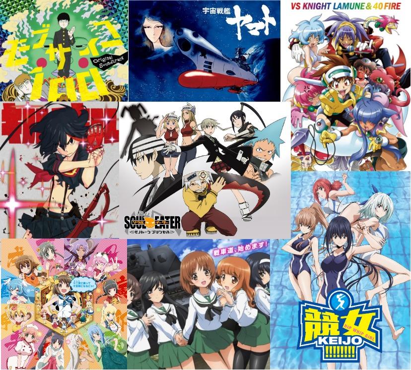 [名作〜最新作まで]バトルシーンが最高に熱いアニメ!BEST20[オススメ曲付き]