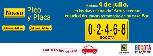 """El mensaje del gobierno que trabaja por desincentivar el uso del carro particular: """"Carro todos los días"""""""