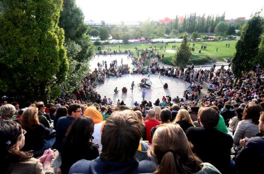 Parque Mauer en Berlín. Fotografía de Kate Barry