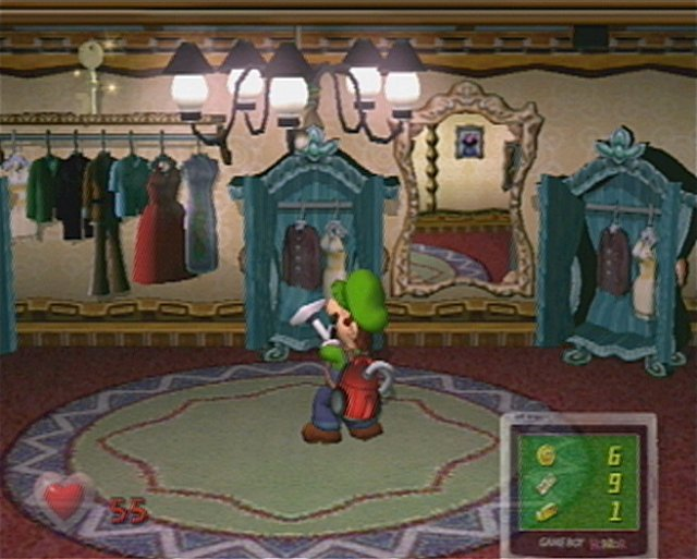 luigis mansion gamecube screen 2