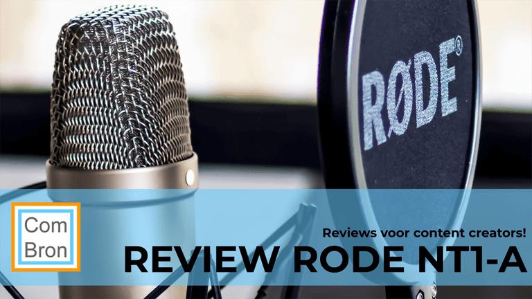 Review Rode NT1-A grootmembraan condensatormicrofoon.