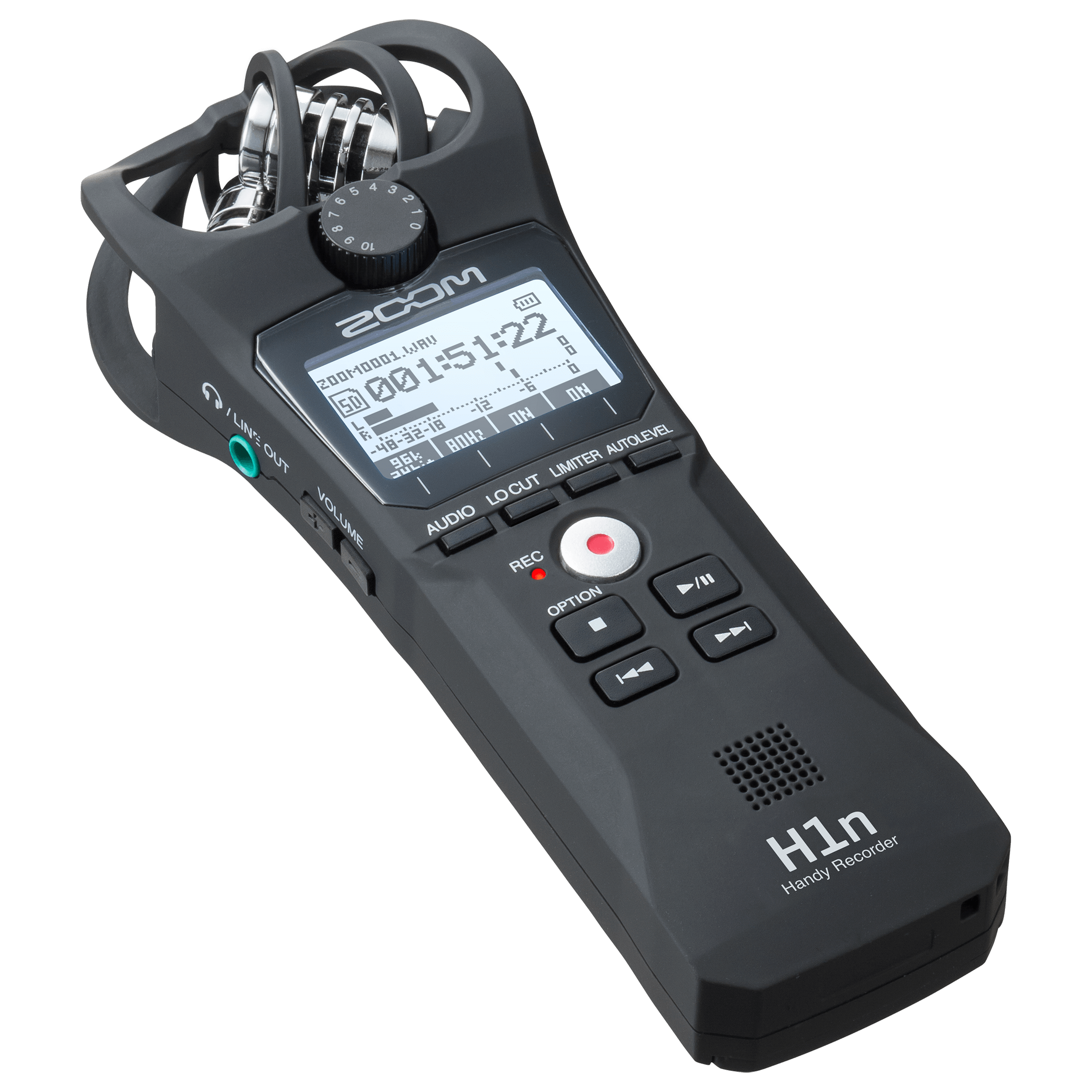 Productfoto ZOOM H1N audio recorder review.