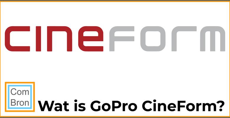 Wat is GoPro CineForm?