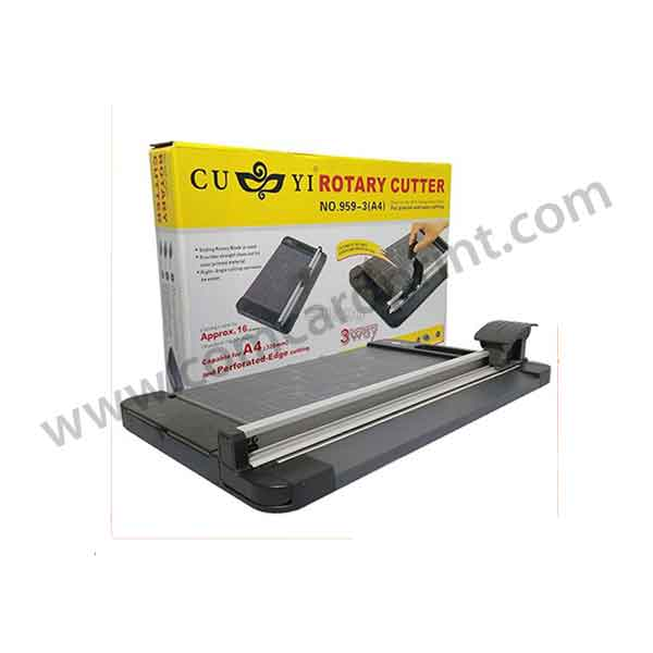 CUYI 3 Way Rotary Cutter A4 Size