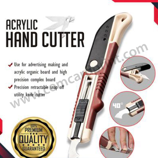 Acrylic Hand Cutter | Multi-Functional