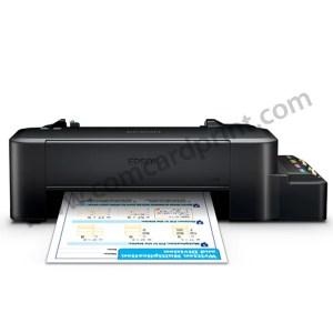 [SET] Epson L120 Single Function Printer CISS with CUYI DYE INK (C,M,Y & K Colors)
