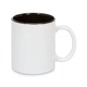 QUAFF Coated Inner Color Mug 11OZ Black