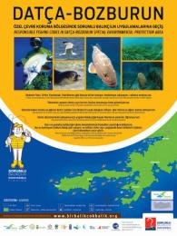"""""""Responsible Fishing Codes in Datça-Bozburun Special Environmental Protection Area"""", developed as an educational tool at the landscape level."""