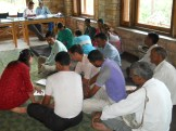 Village meetings and agreements for Mahila Haat
